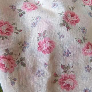 Antique silk mousseline flovers