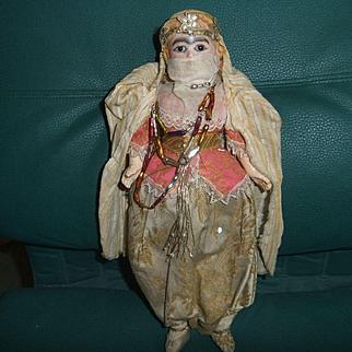 Antique originale doll orientale