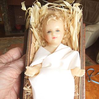 Antique wax jesus