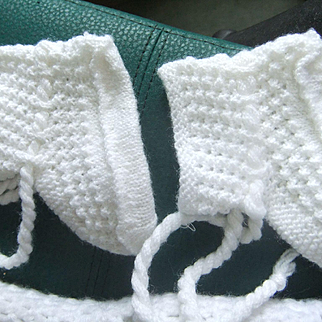 Wool baby choes