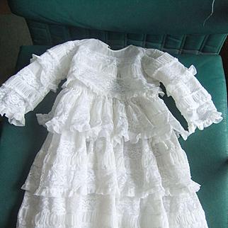 Dress nylon large doll