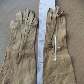 Beautifull gloves lrether 1880