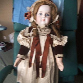 Antique dress &hat bebe size 12
