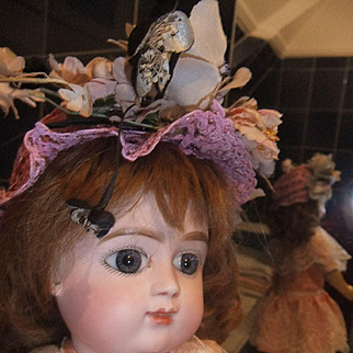 Antique french bebe Charles Panier