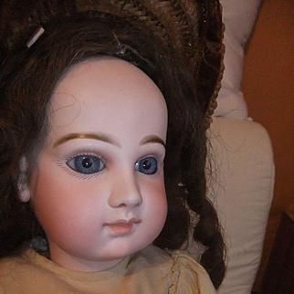23 Beautiful french bisque bebe jumeau portrait