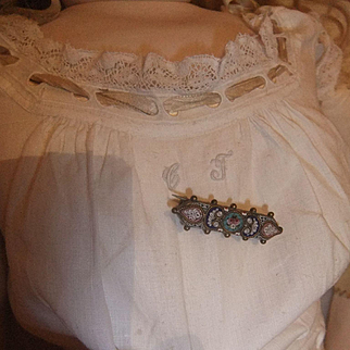 Antique Old doll jewel micro mosaîque