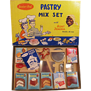Black Americana, Aunt Jemima Junior Chef Pastry Mix Set in Box_never used_