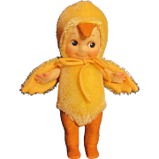 """6"" KEWPIE Chick Felt Doll Bug _ R. John Wright_MIB"