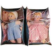 Little Brother, Little Sister_MIB_Circa 1977_2 Madame Alexander Dolls_FREE Shipping in USA
