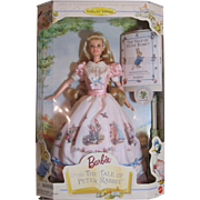 Thank you 'R'_Barbie Doll_Beatrix Potter, The Tale of Peter Rabbit, Mattel Co. 1997 MIB_Nice Easter Gift_