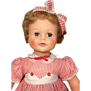Vintage Ideal Kissy Doll 22 1/2in. Ideal Toy Co._Pat. Pending