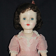 "Pretty in Pink 24"" Hard Plastic American Character Sweet Sue Walker"