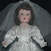 "Lovely Bride 14"" Hard Plastic Sweet Sue"