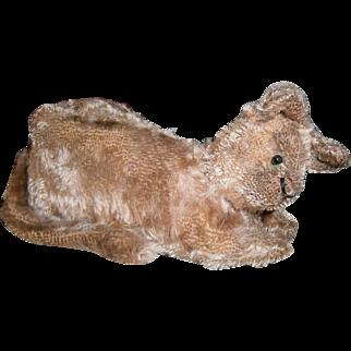 AAFA Early Child's Stuffed Mohair Kitten Cat Toy