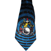 Dr. Seuss Cat in the Hat Drummer Pure Silk Tie
