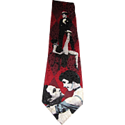 Singing in the Rain Pure Silk Designer Tie