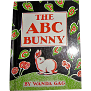 The ABC Bunny by Wanda Gag, c.1933, 1961, 7th printing, HC, Like New