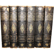 Ridpath Library of Universal Literature 6 Volumes, Classics, 1910
