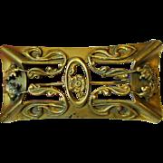 """3 3/4"""" Art Nouveau Sash Pin"""