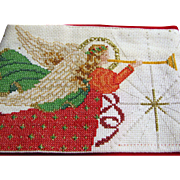 Counted Cross Stitch Angel Stocking