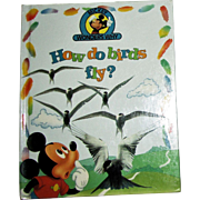 "Disney Books - ""How do birds fly? & Other Facts"" - Mickey Wonders Why by Alexandra Parsons"