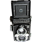 Yashica-635 Twin Lens Camera & Case