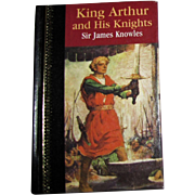 King Arthur and His Knights, Illustrated, HC 1/4 Leather, Children's Classics