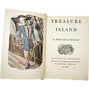 Treasure Island by Robert Louis Stevenson, 1949 HC Random House,  Illustrated