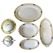 Great 8 Piece Serving Set of Noritake Florida