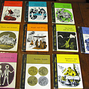 The Home Adventure Library 10 Volume Set, 1968 1st Edition