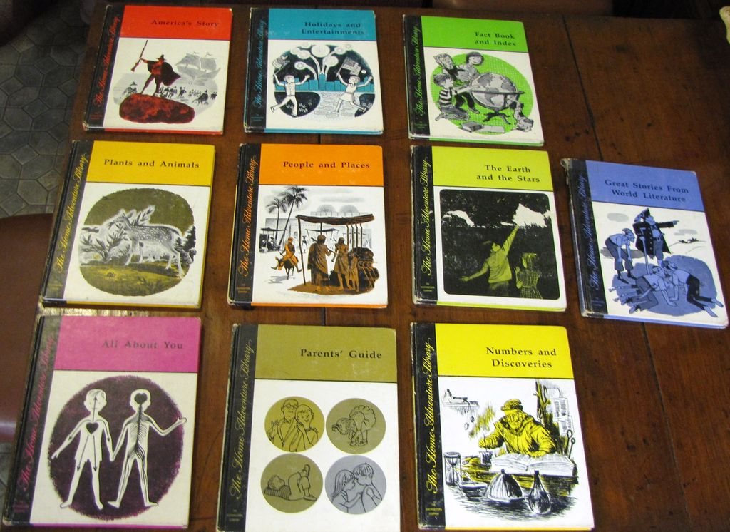 The Home Adventure Library 10 Volume Set, 1968 1st Edition‏