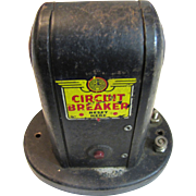 Vintage Train Automatic Signal Circuit Breaker, Tin, Made in America by Marx Toys‏