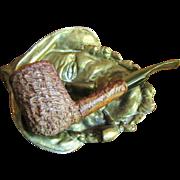 Vintage Handmade Italian Bell's (112) Rustic Sea Rock Brier Pipe