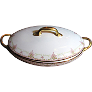 Lovely Antique French Elite Limoges Large Tureen