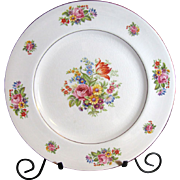 "Pareek 10"" Plate by Johnson Bros Brothers Floral Pattern"