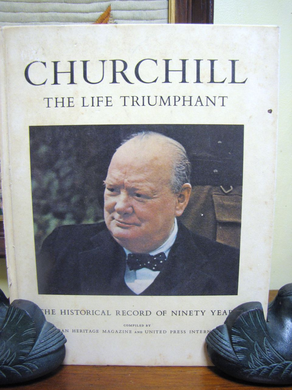 H, Aug. 1965, Churchill The Life Triumphant The Historical Record of Ninety Years 1st edition