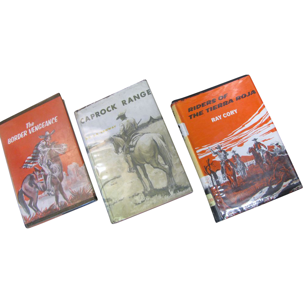 Fw: Set of 3 westerns: The Border Vengeance, Caprock Range & Riders of the Tierra Roja‏