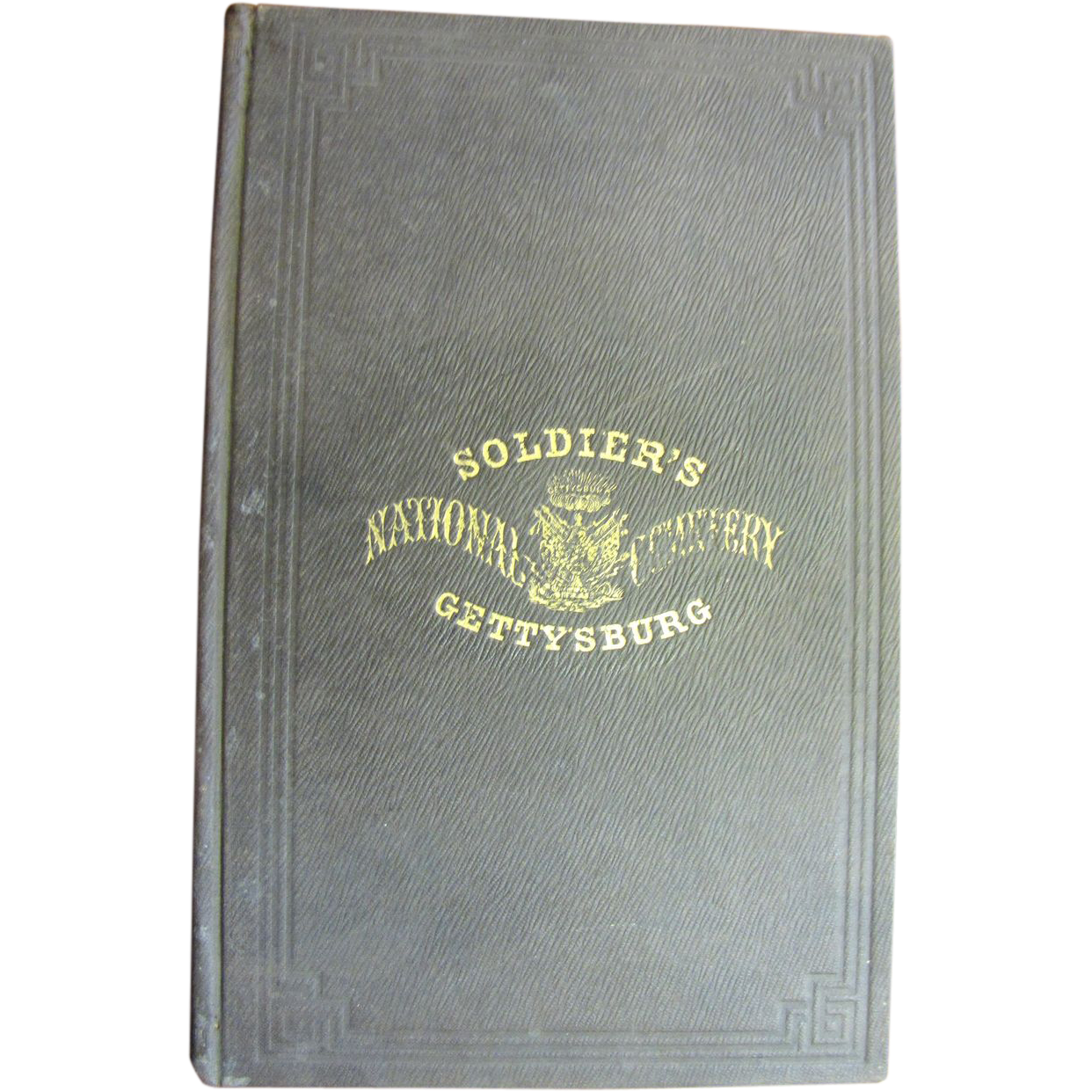 Soldier's National Cemetery Gettysburg 1864 Select Comittee Report Including  Abraham Lincoln's Address
