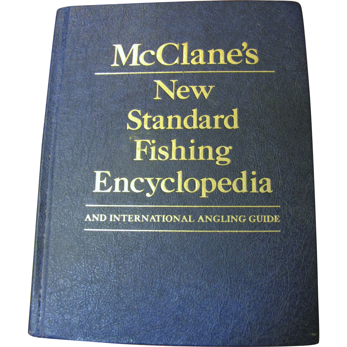 McClane's New Standard Fishing Encyclopedia 1974‏