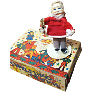 "Super Antique Tiny 4"" Belsnickle German Santa, Perfect for Doll Display!"