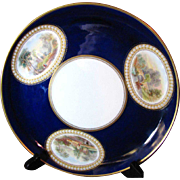 George Grainger Worcester 1889-1902 Hand Painted Cabinet Plate No. 1