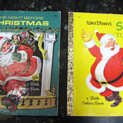 Santa's Toy Shop and The Night Before Christmas, Little Golden Books
