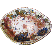 1877-90 Antique Crown Derby Platter for  J.E Caldwell Philadelphia