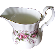 Prettiest Creamer in the Lavender Rose Pattern by Royal Albert