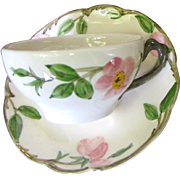 Loveliest Desert Rose Cup & Saucer by Franciscan (7 available)