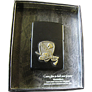 Star I Lighter with Black Jack Brigade Emblem, Unused in Box