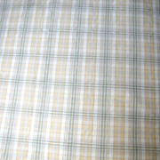 "46"" Remnant of Classic Grosgrain Green and Yellow Woven Plaid"