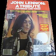 John Lennon: A Tribute Yesterday and Today, December 1980, Zentner Publication