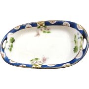 Sweet Tiny Little Hand Painted Nippon Pin Tray, Perfect for Doll Display