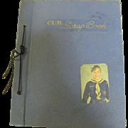 Rare 1950s Cub Scout Scrap Book